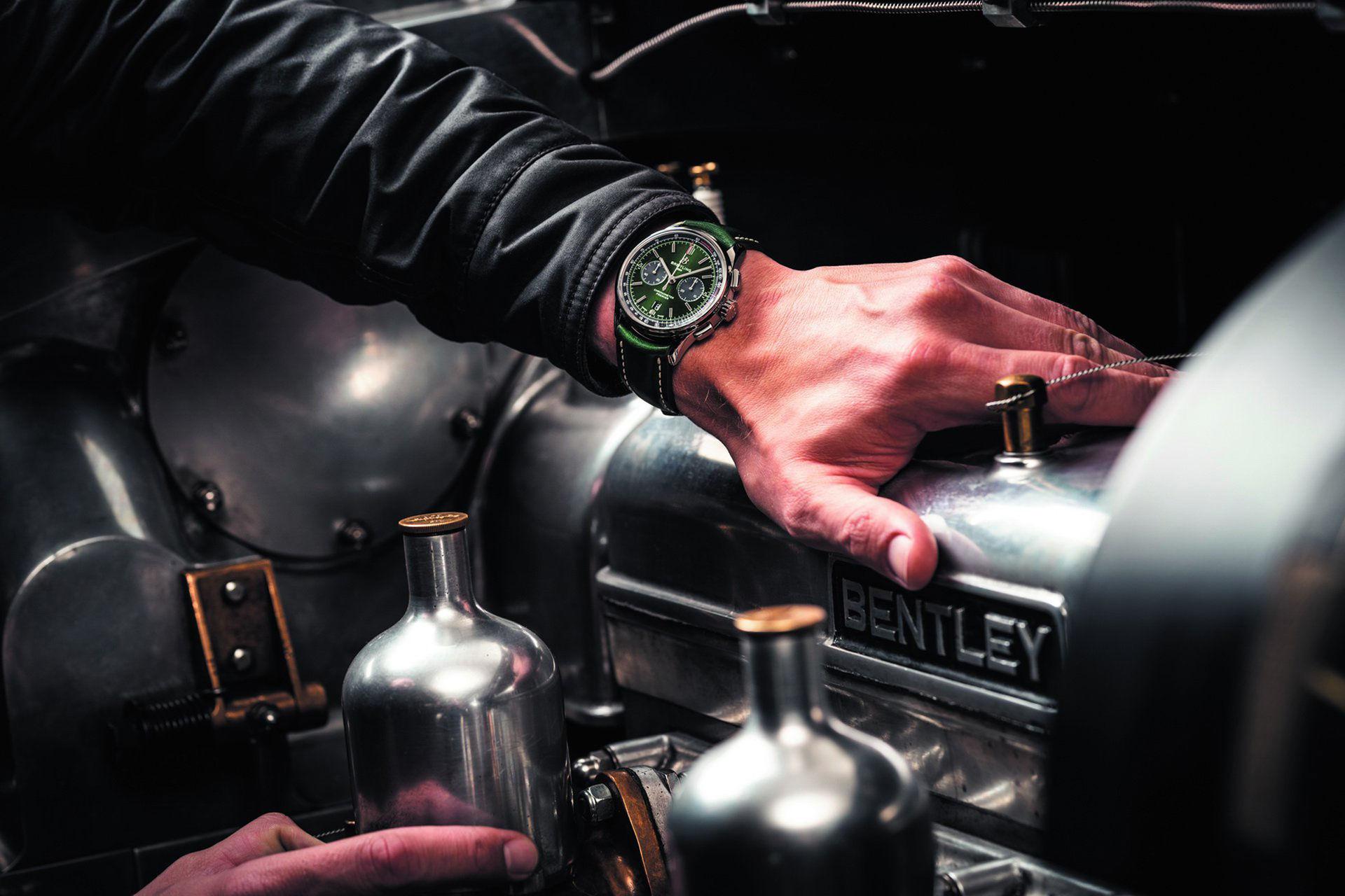 Nytt klocksamarbete från Breitling och Bentley
