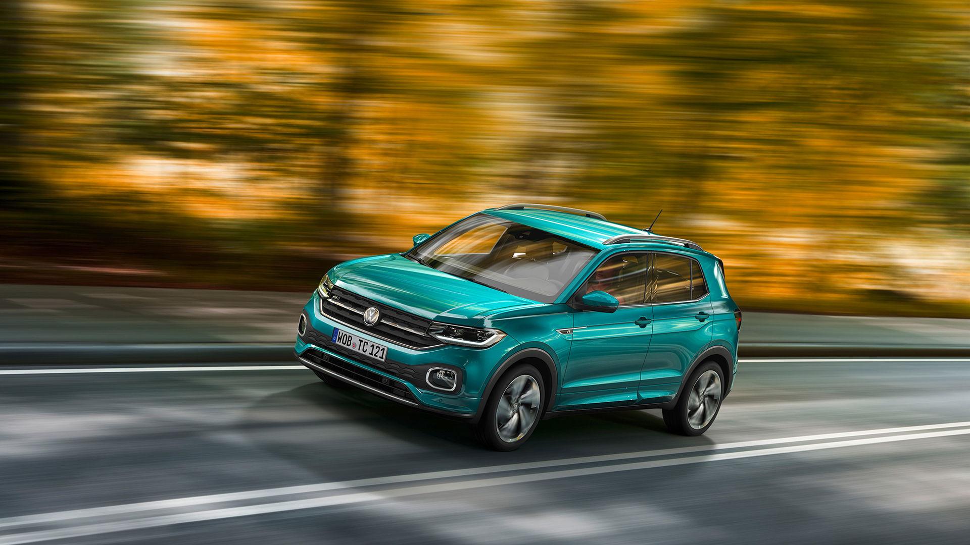 Volkswagen presenterar T-Cross