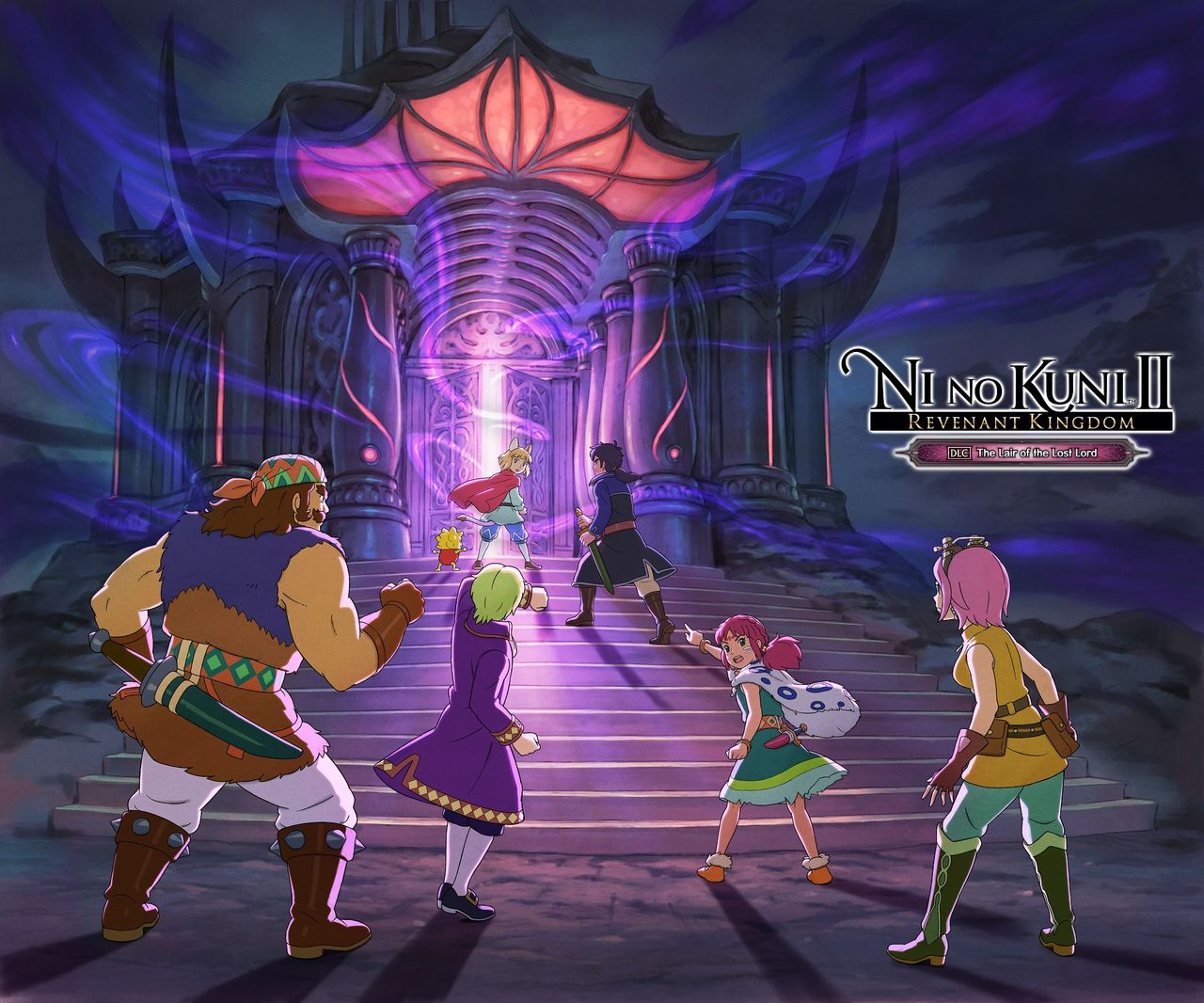 Första DLC:t till Ni No Kuni II är The Lair of the Lost Lord