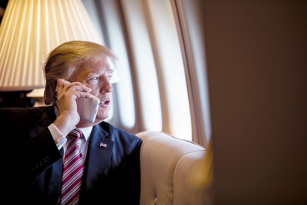 Kina trollar Trump