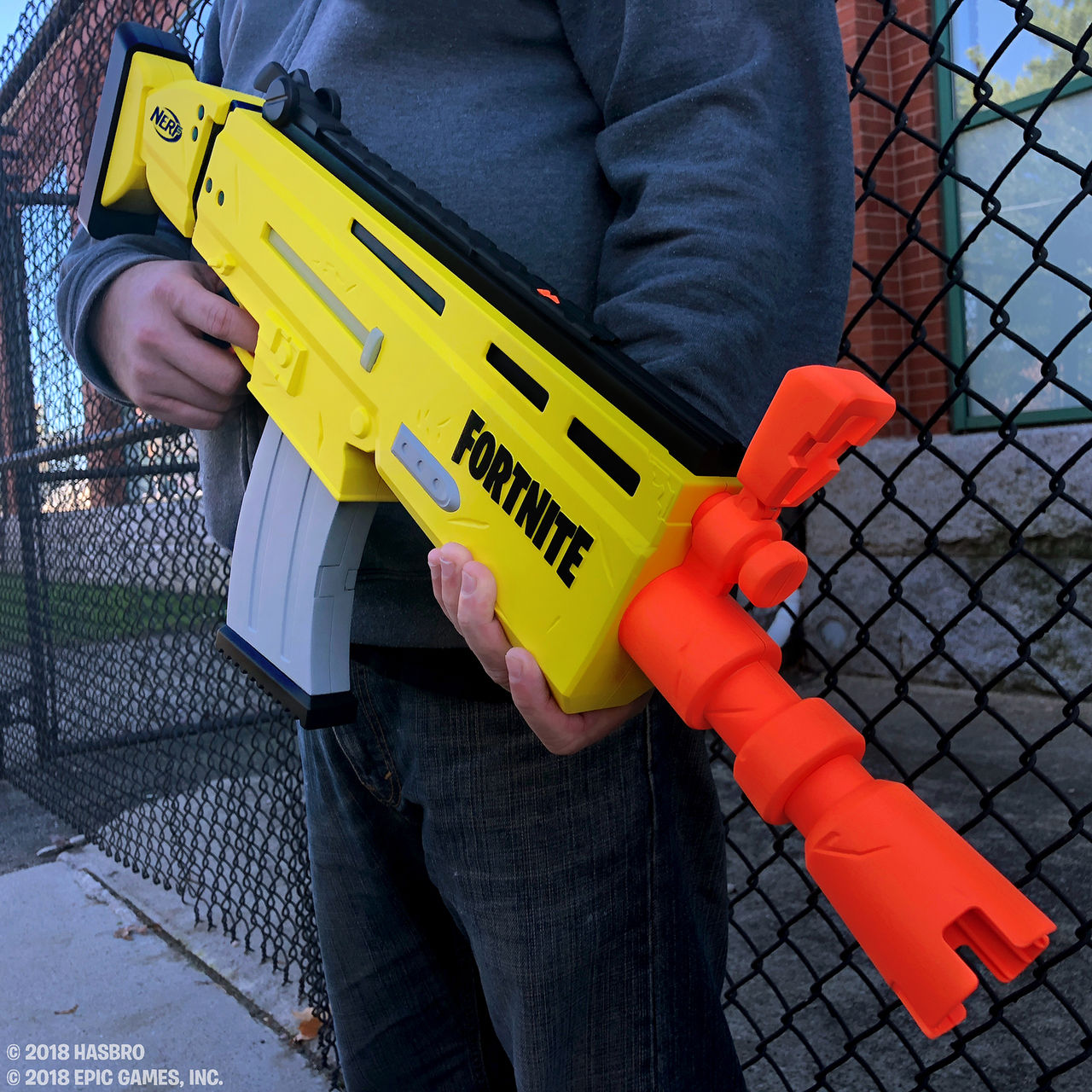 Här är Nerfs första Fortnite-gevär