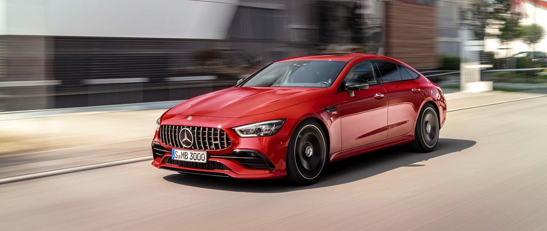 Priser klara för 4-dörrars AMG GT och A-Klass Sedan