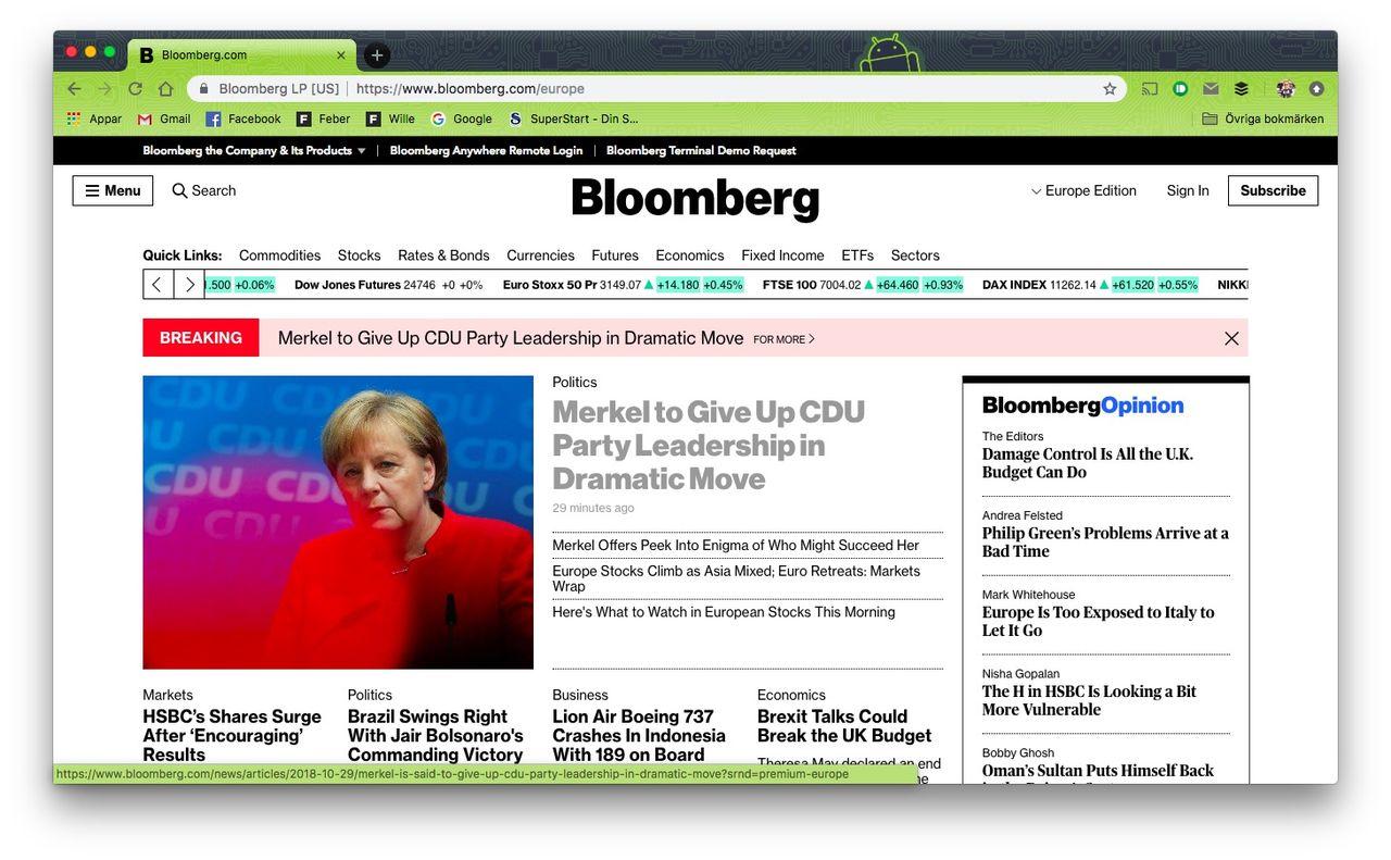 Apple och Amazon hämnas på nyhetsbyrån Bloomberg