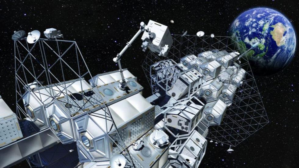 Forskare utvecklar nanofiber som kanske kan användas till en rymdhiss