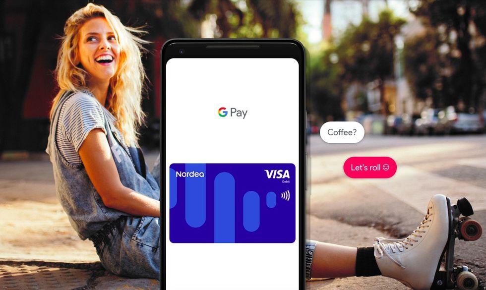 Google Pay lanseras i Sverige