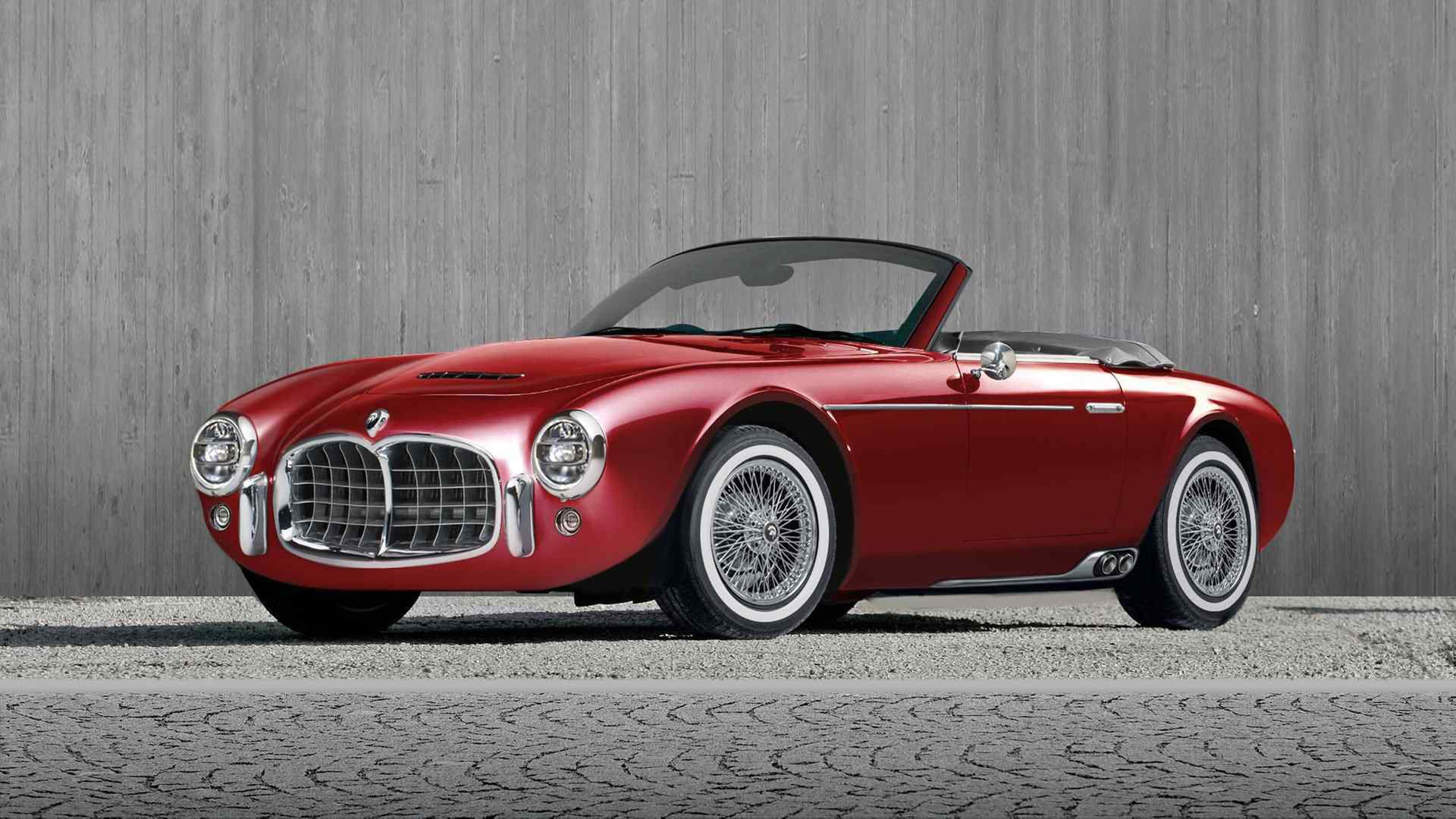 En modern nytolkning av Maserati Spyder