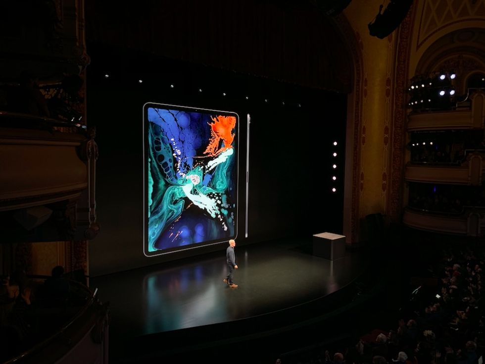 Apple presenterar ny iPad Pro