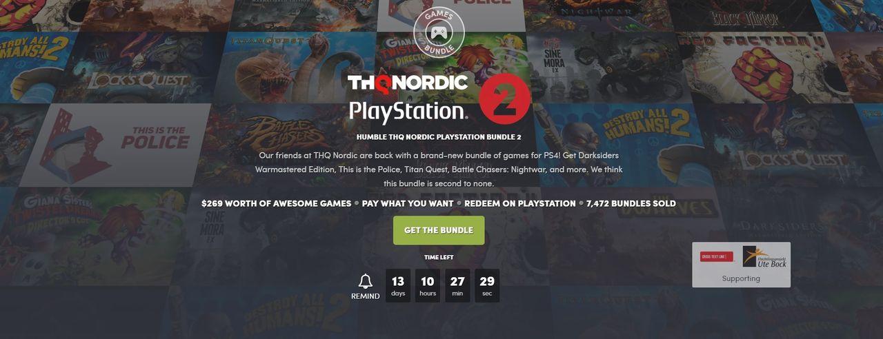 Fynda PS4-spel i ny Humble Bundle