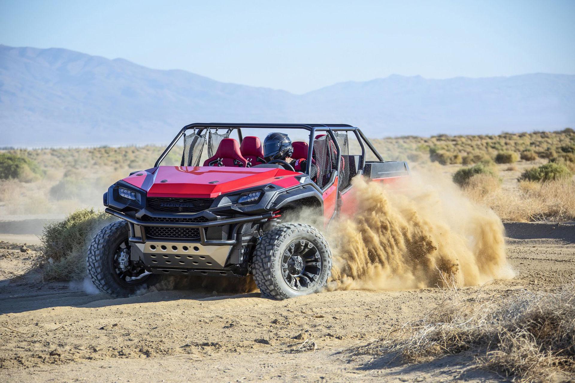 Honda har byggt en buggy baserad på pickupen Ridgeline