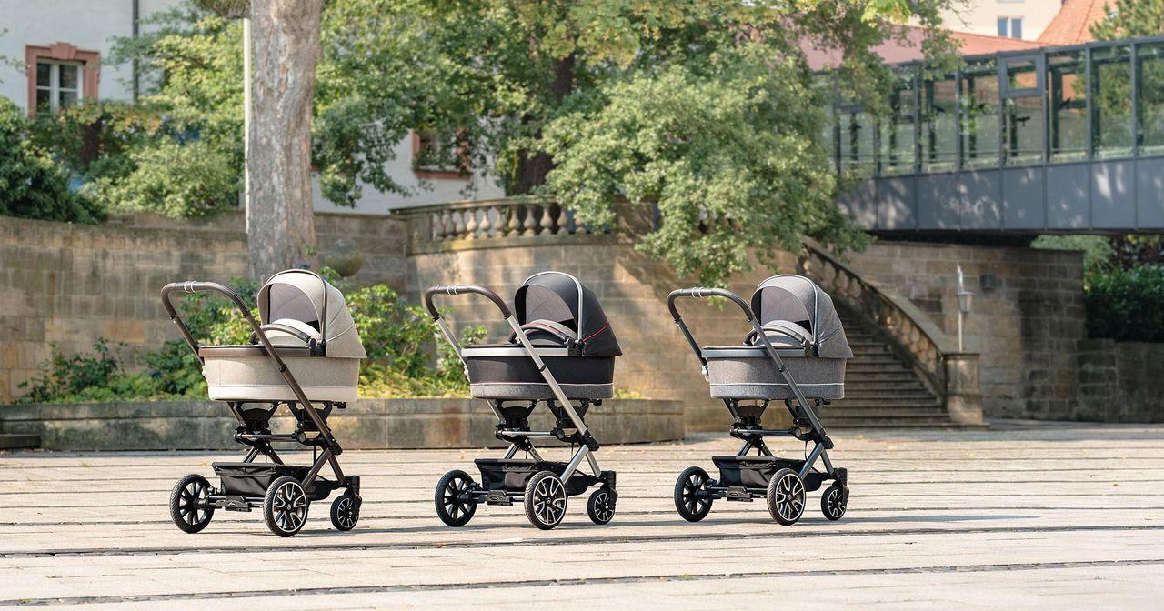 Barnvagnen för Mercedes-älskaren