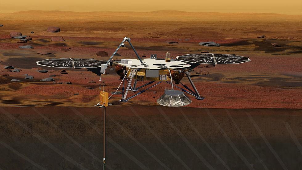 NASA landar på Mars igen om några veckor