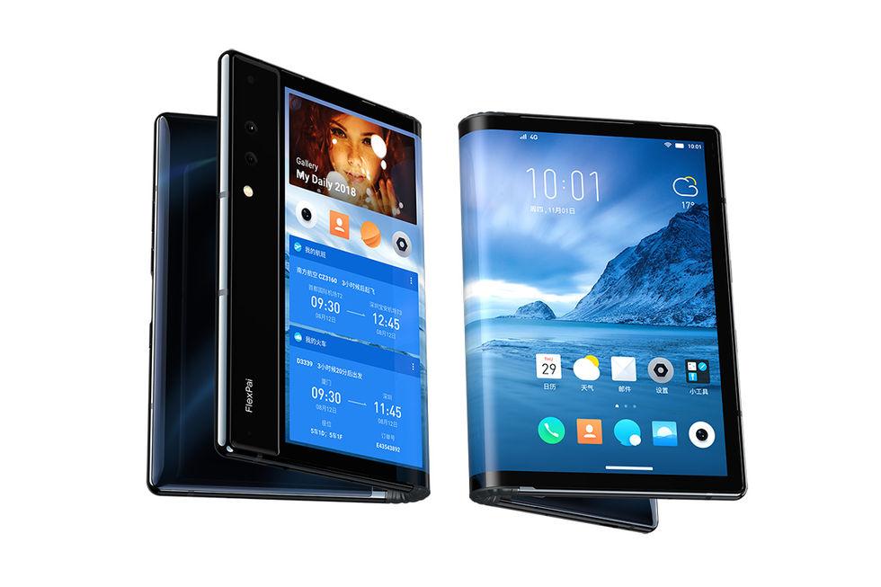 FlexPai är världens första telefon med vikbar skärm