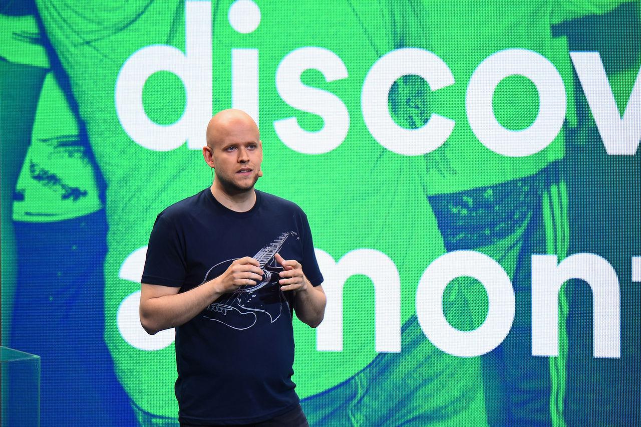 Spotify gör mindre förlust än förväntat
