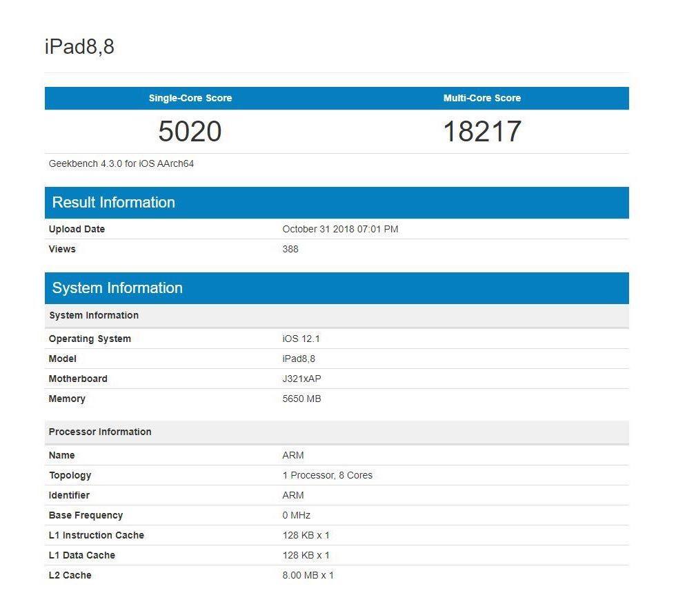 iPad Pro lika snabb som MacBook Pro och iMac Pro