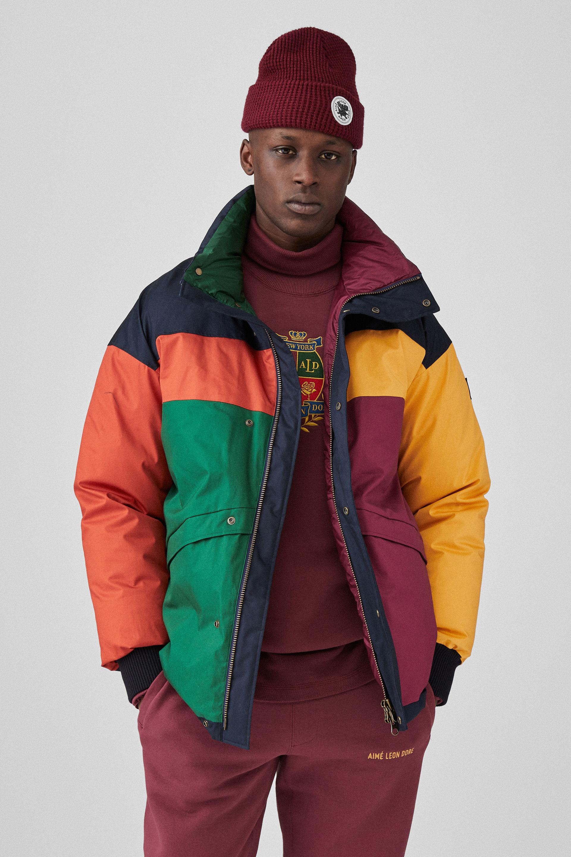 Varma kläder från Woolrich och Aimé Leon Dore