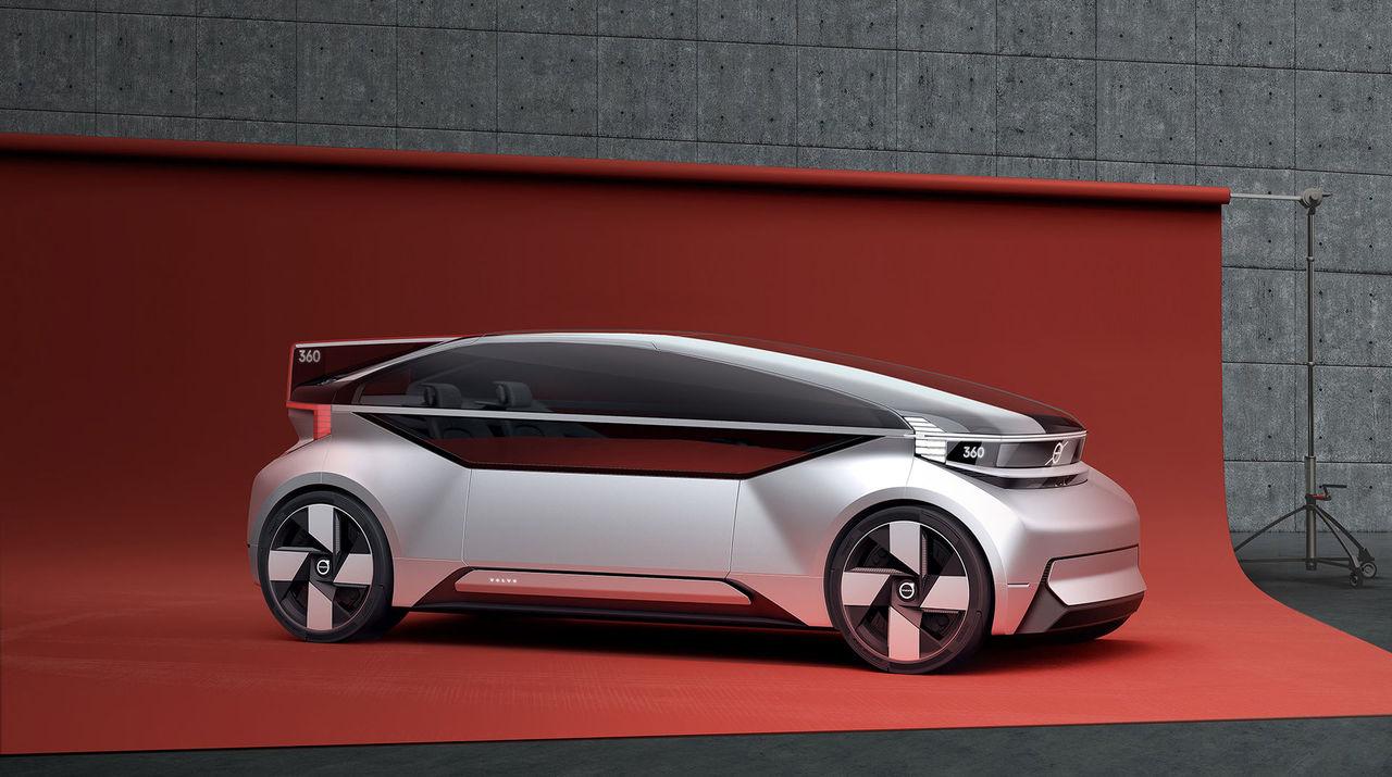 Volvo och kinesiska Baidu ska bygga självkörande bilar ihop