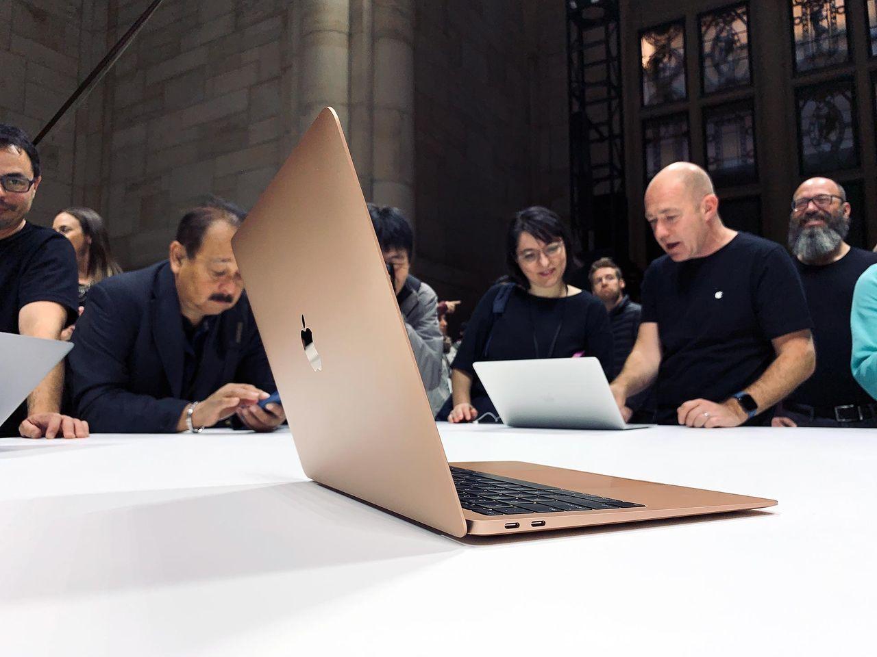 Prestandatest på MacBook Air dyker upp