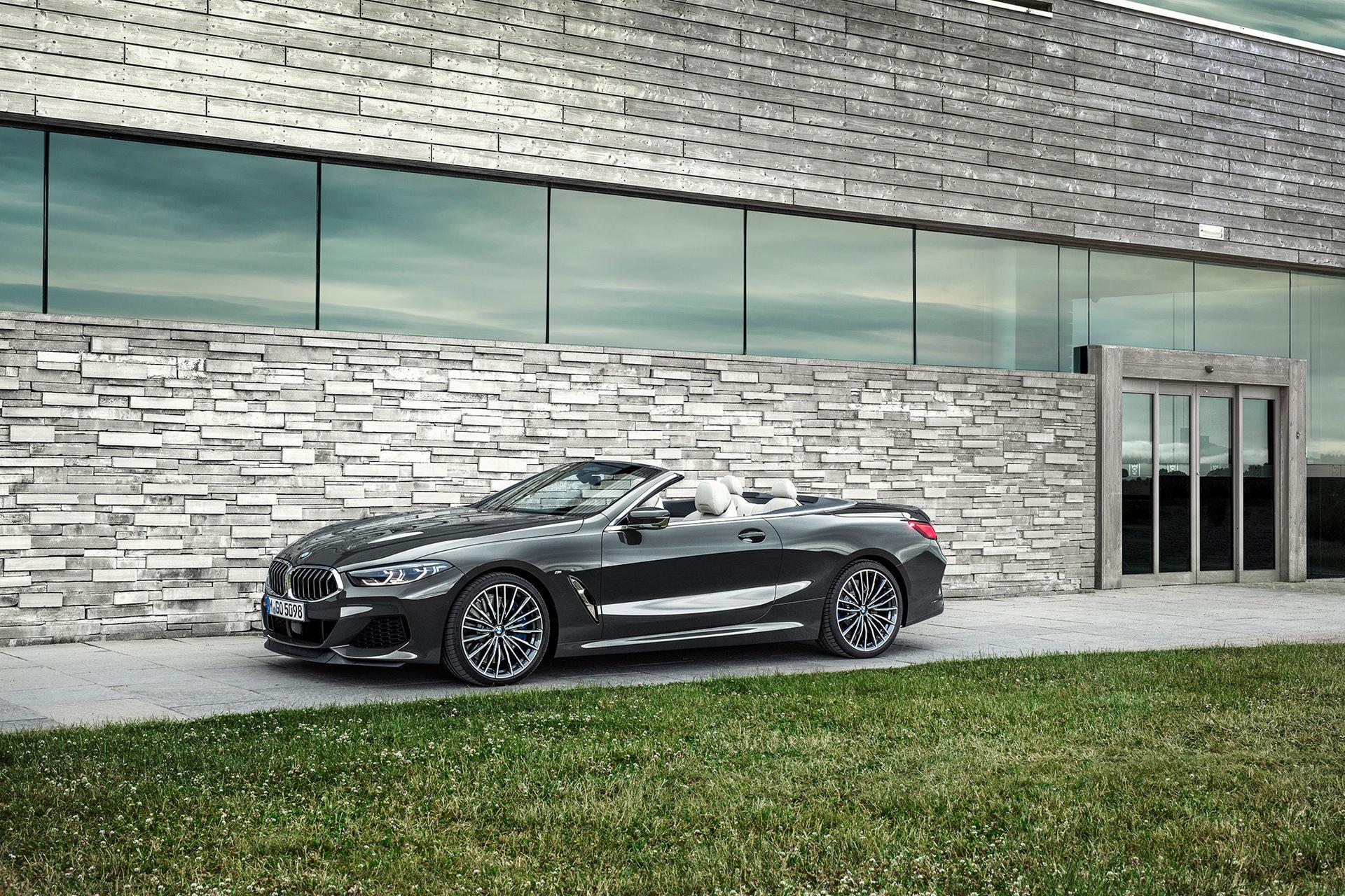 BMW presenterar 8-serie Cabriolet