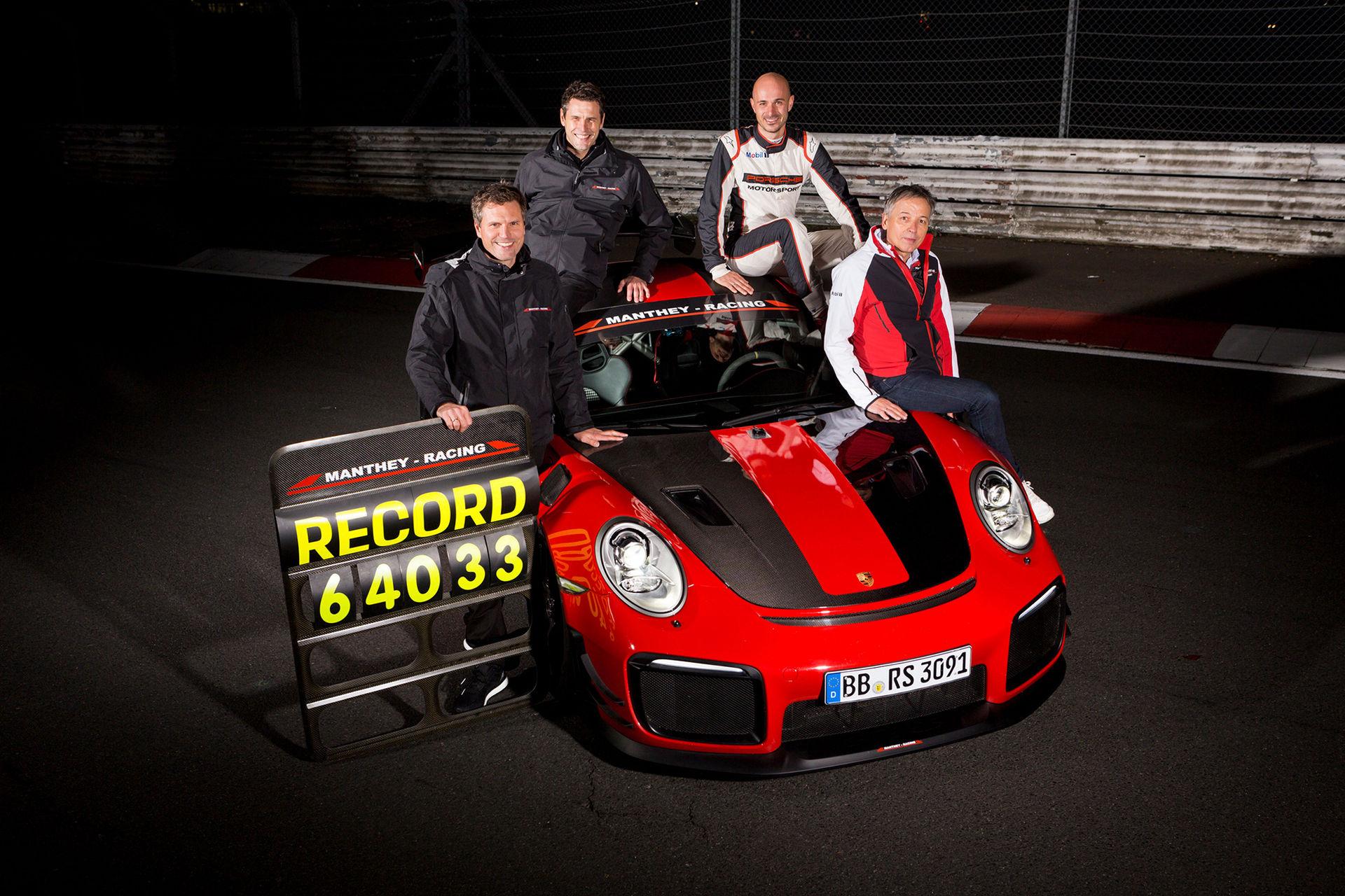 Porsche 911 GT2 RS MR snabbaste gatlegala bilen på Ringen