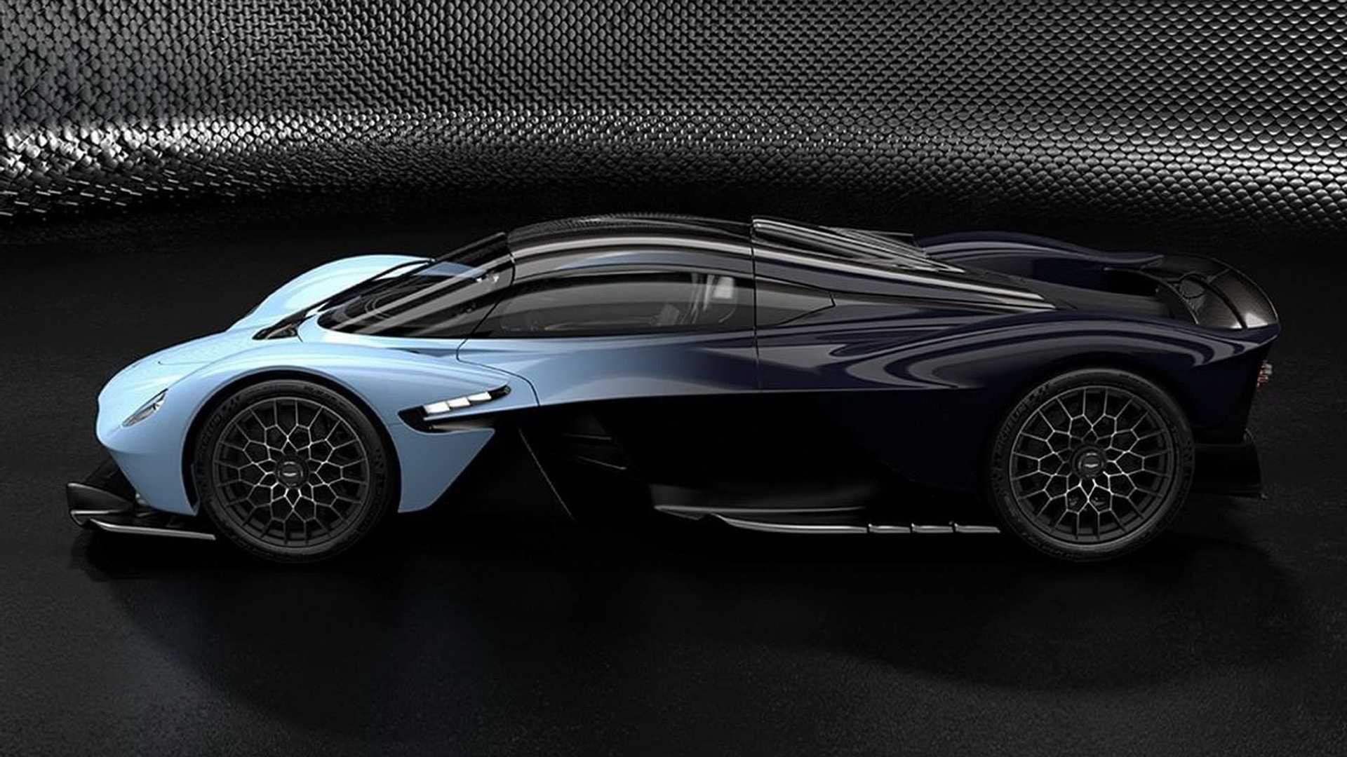 Nya bilder på Aston Martin Valkyrie