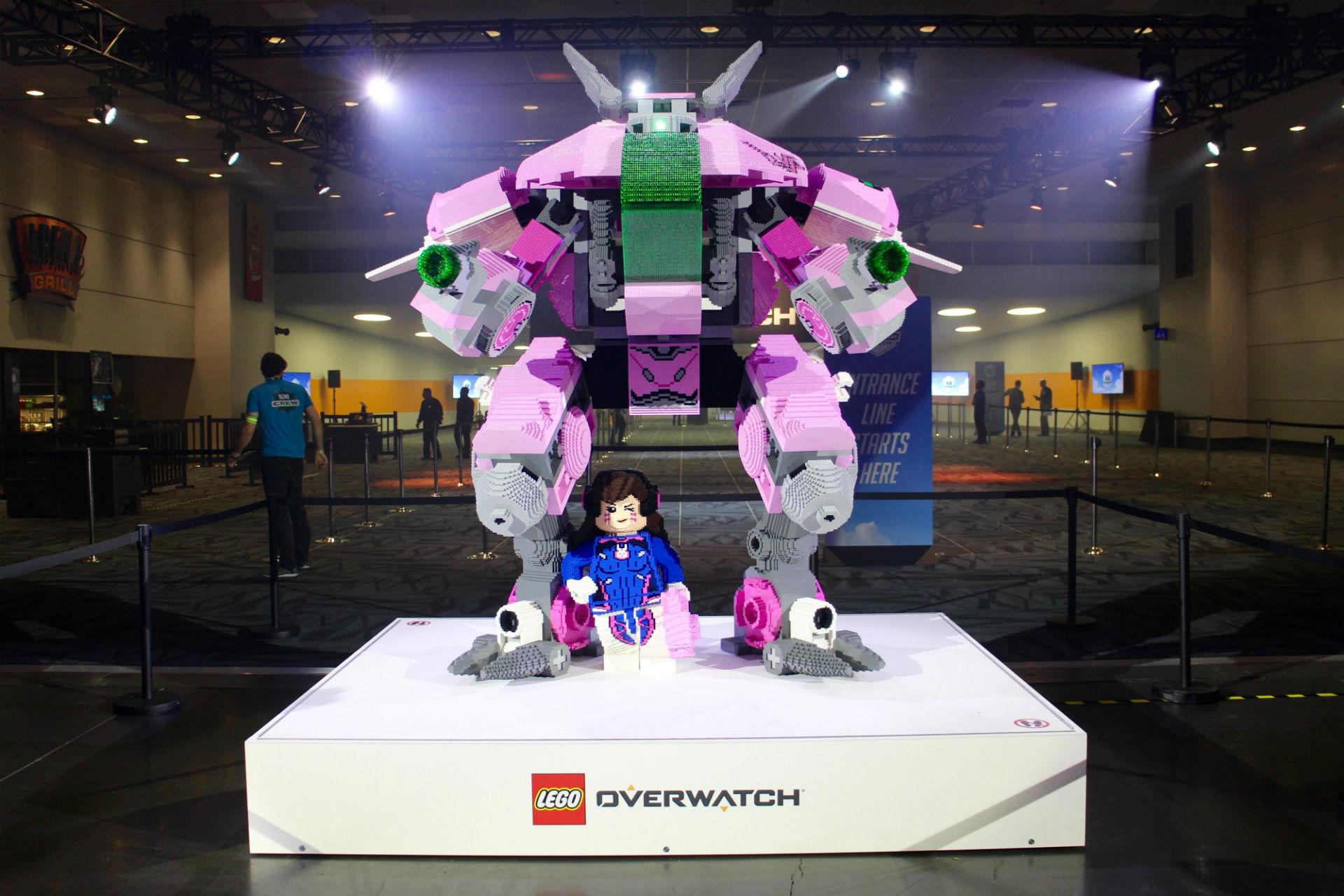 Overwatch-LEGO presenterades officiellt på BlizzCon