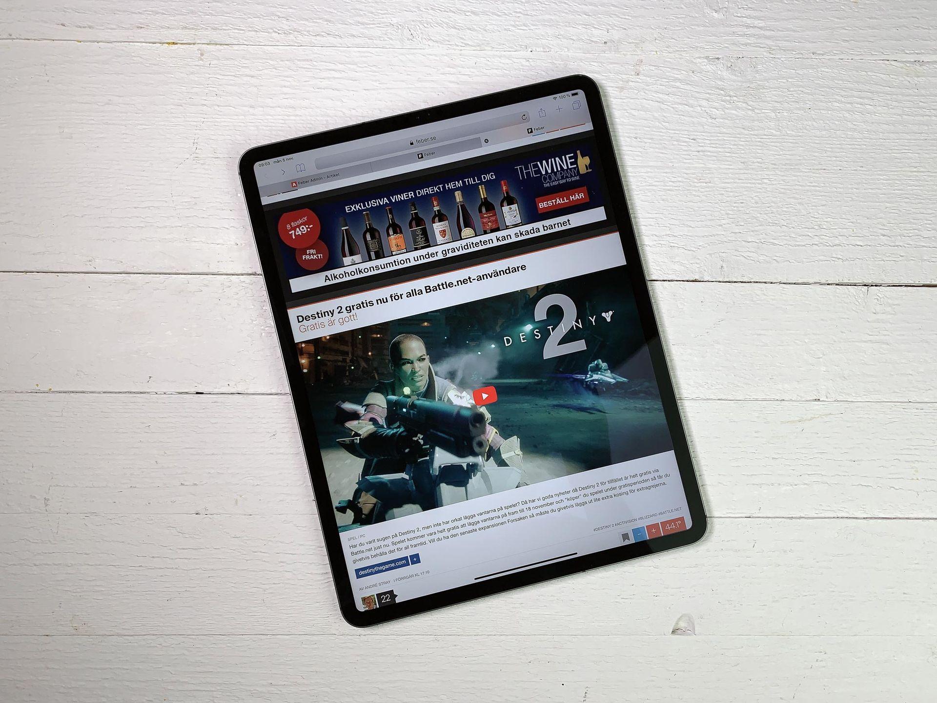 Så bra är helt nya iPad Pro! Helt klart världens bästa tablet ... 5132e9ca2a0fc