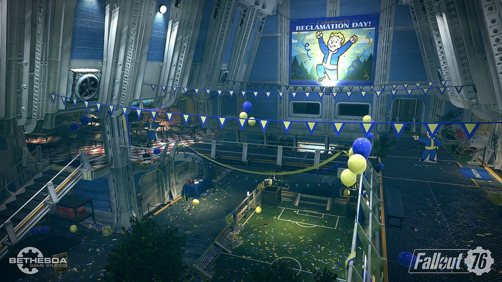 Kändisar streamar Fallout 76 på fredag