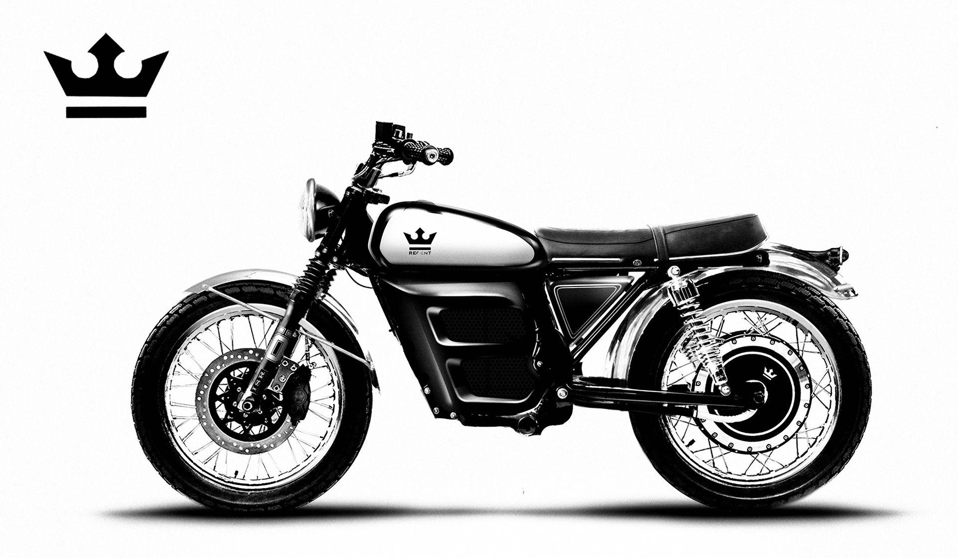 Eldriven retro-motorcykel från Sverige