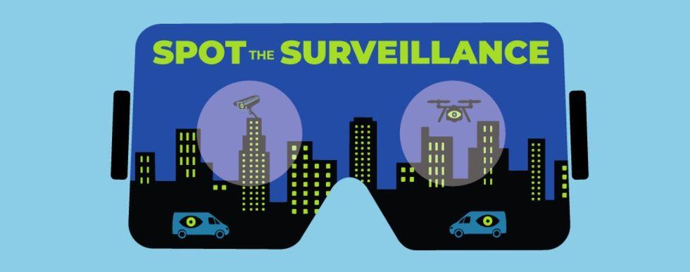 EFF släpper VR-verktyg för att hitta övervakningskameror