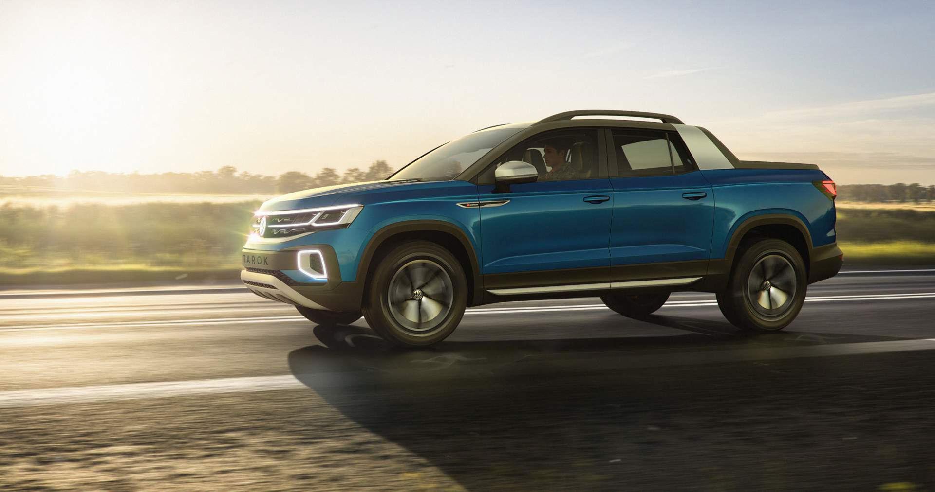 Volkswagen visar Tarok Concept
