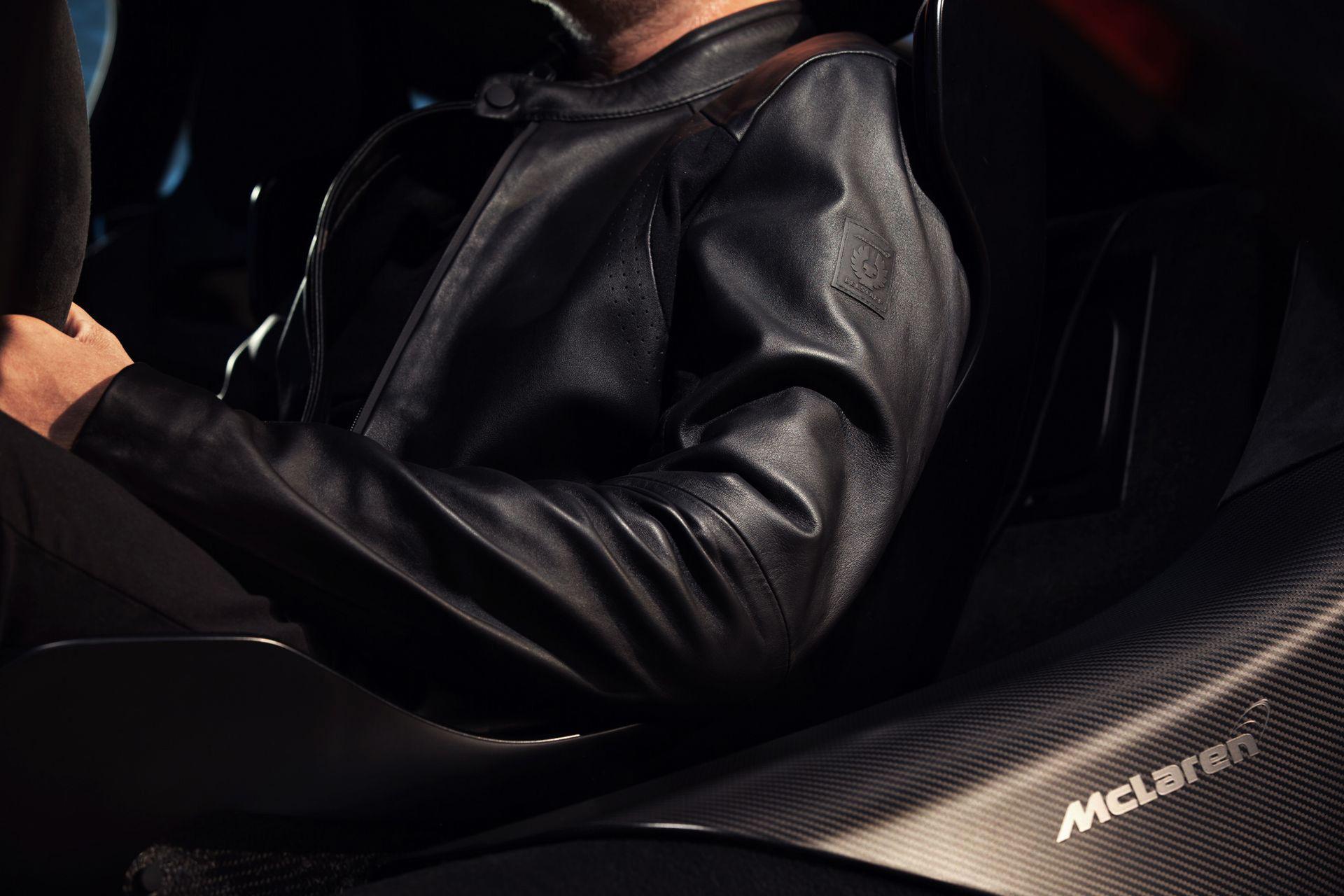 McLaren och Belstaff presenterar klädkollektion