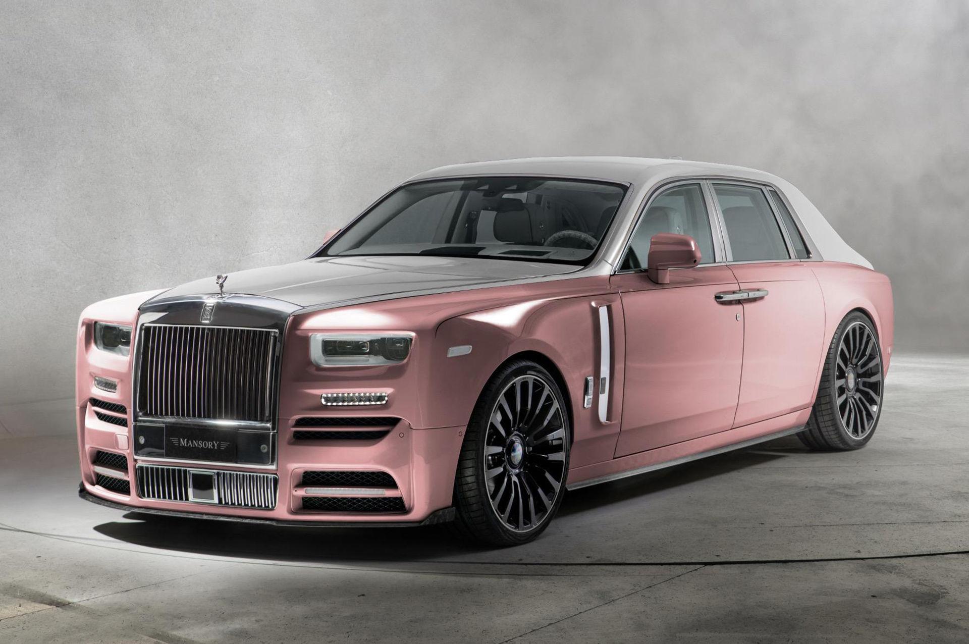 Mansory piffar till nya Rolls-Royce Phantom