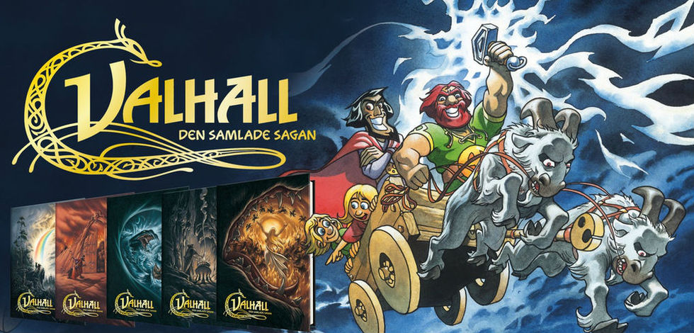 Seriealbum Valhall släpps i exklusiv samlarbox