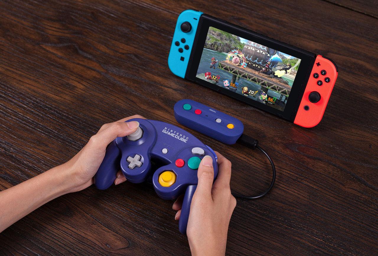 Använd gamla GameCube-kontroller till Nintendo Switch