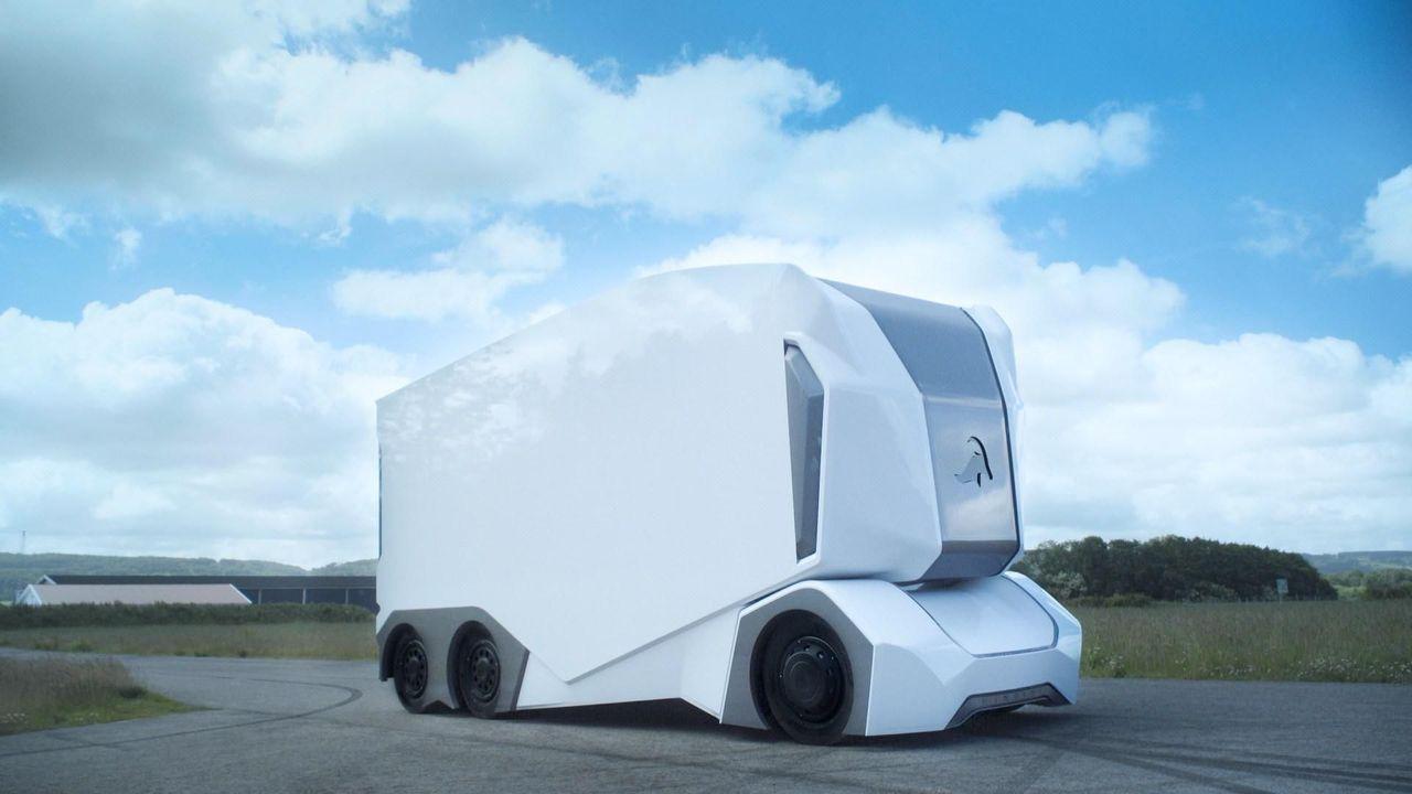 Einride börjar testa självkörande lastbilar i Jönköping