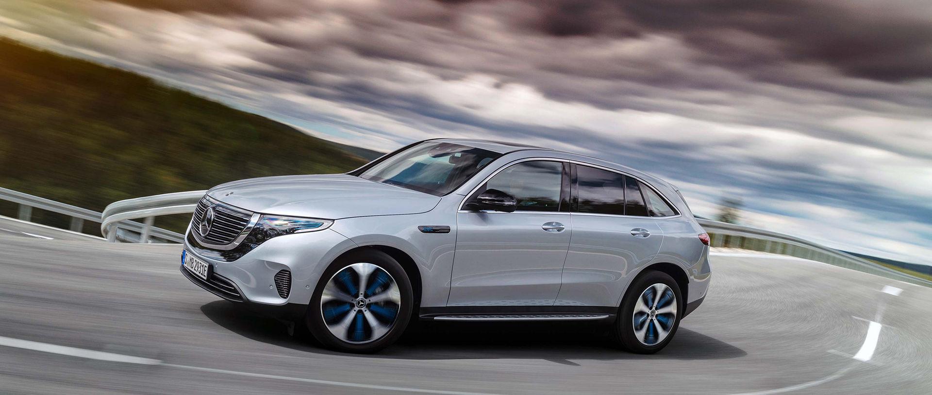 Mercedes elbil kommer i mitten av nästa år