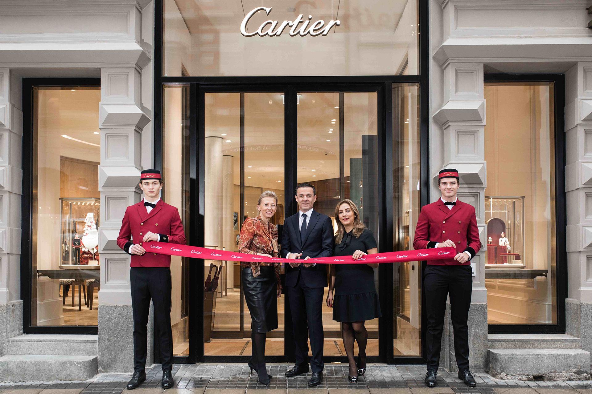 Cartier har öppnat butik i Stockholm