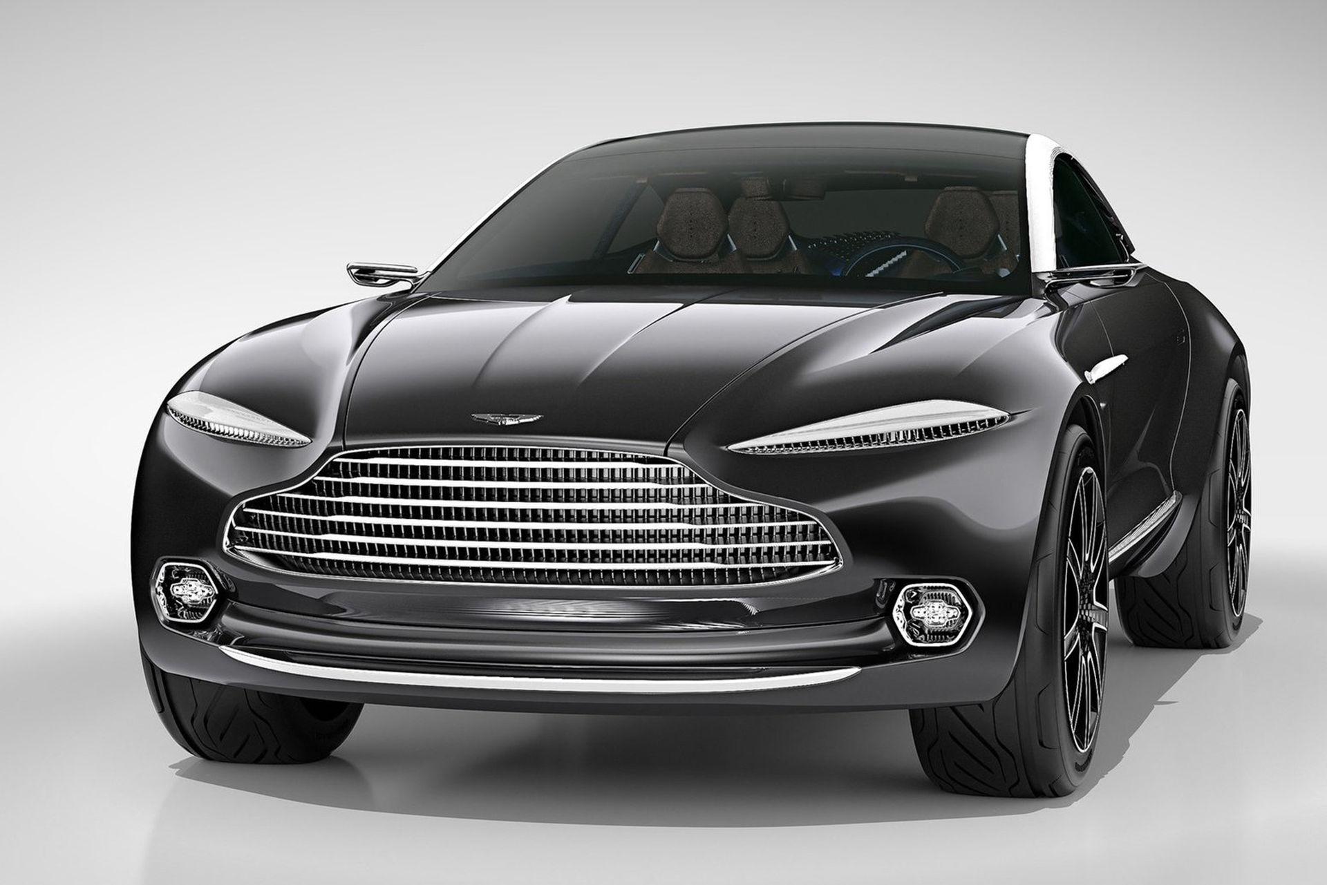 Aston Martins SUV presenteras i slutet av 2019