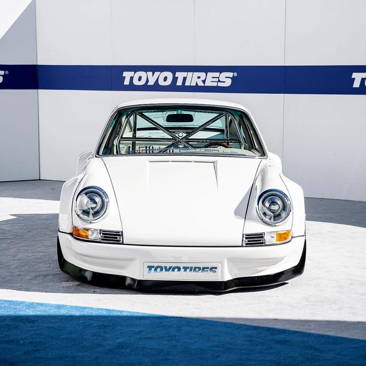 Klassisk Porsche 911 med Tesla-hjärta