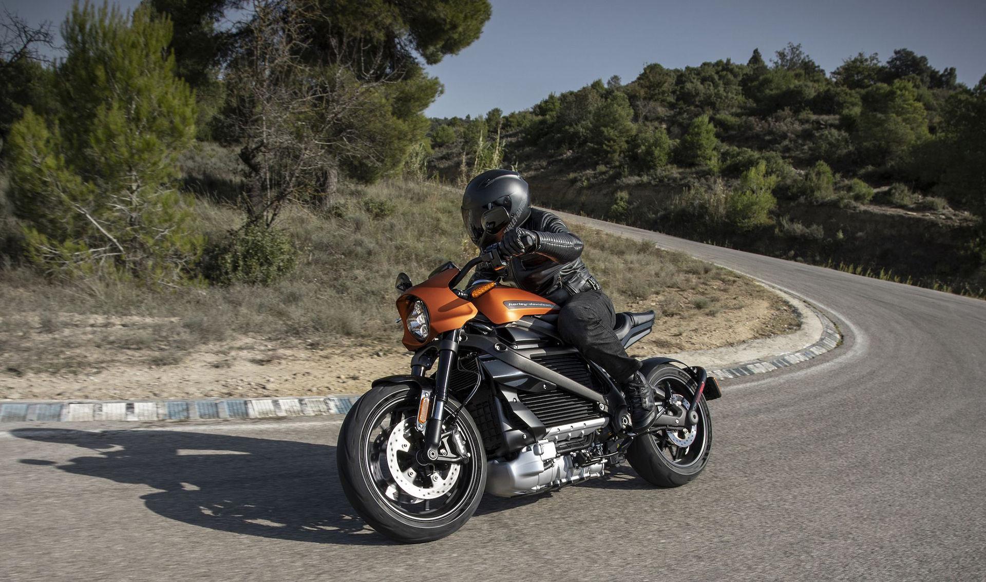 Harley-Davidson LiveWire i produktionskläder