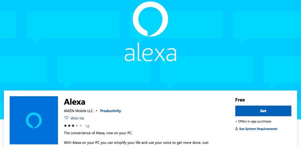 Amazon släpper Alexa-app till Windows 10