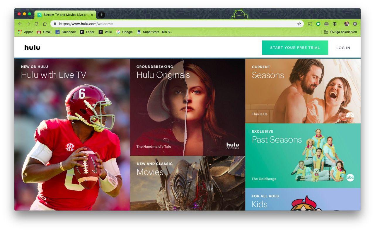 Disney vill lansera Hulu internationellt