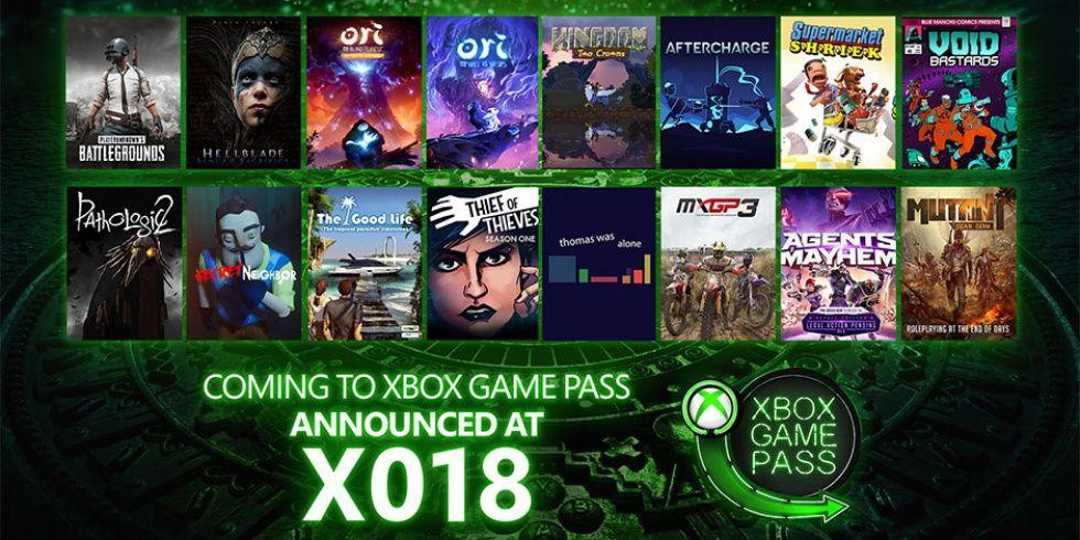 16 nya titlar till Xbox Game Pass