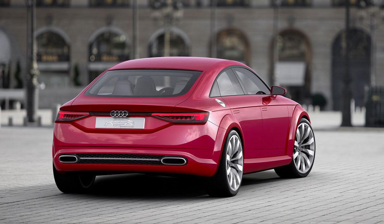 Nästa Audi TT får troligtvis fyra dörrar