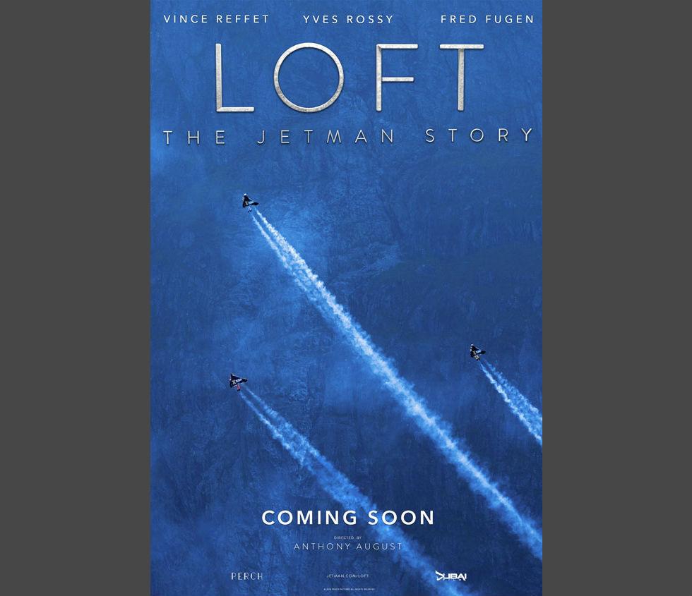 Kolla in teaser till dokumentärfilmen Loft - The Jetman Story