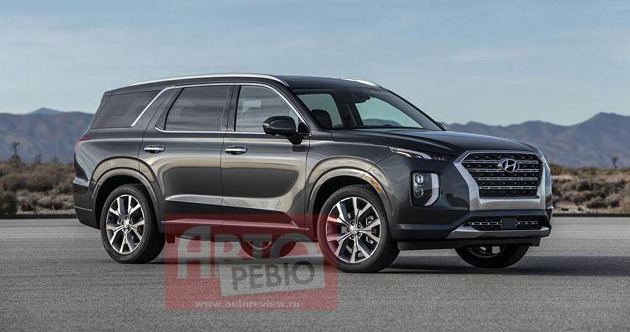 Hyundais jätte-SUV Palisades läcker ut