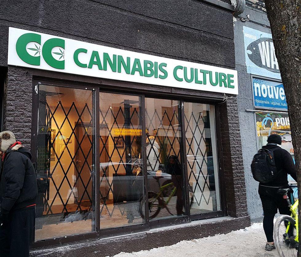 Lagligt cannabis börjar ta slut i Kanada