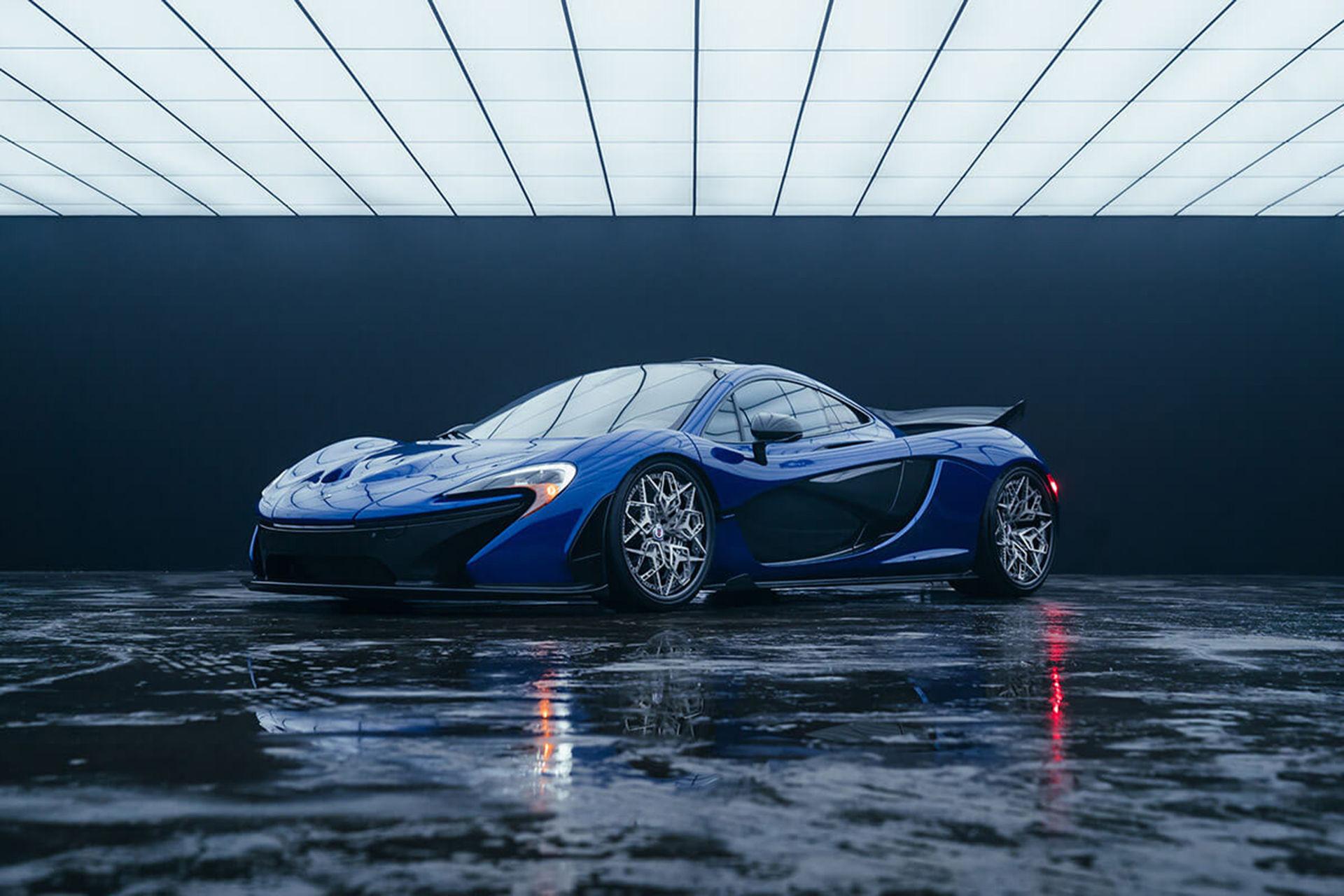 McLaren P1 får världens första 3D-utskrivna titanfälgar