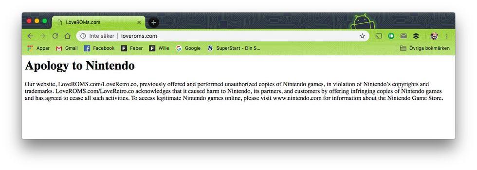 Nintendo vinner tvist mot pirater