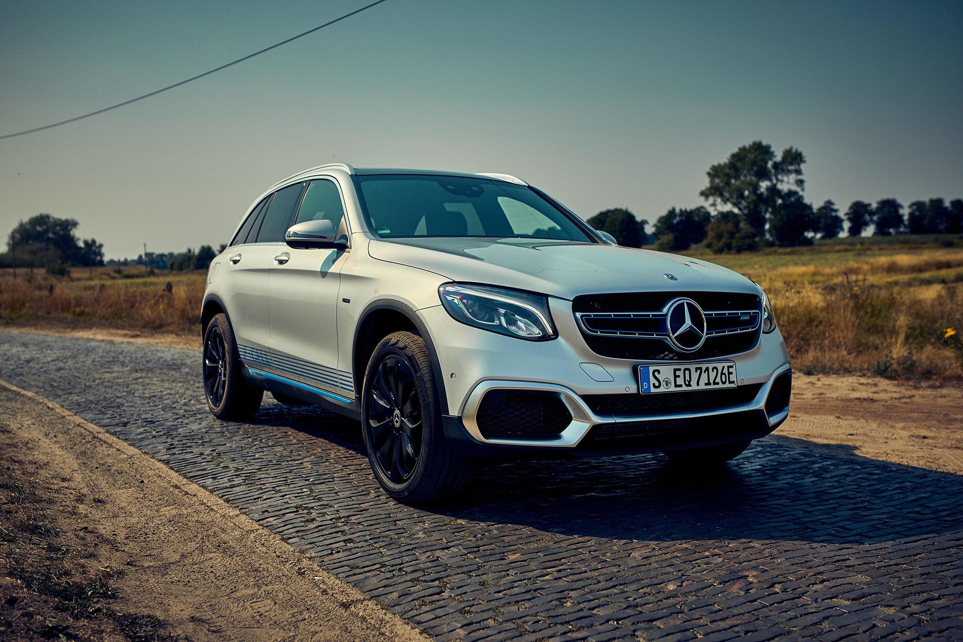 Mercedes GLC F-Cell nu i produktionsutförande